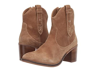 Hush Puppies Hannah Mid Boot (Chestnut Suede) Women