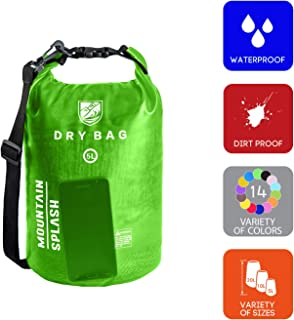 Waterproof Dry Bag 5L/10L/20L-Water Resistant Lightweight Backpack with Handle-Floating Dry Storage Ocean Bag Keeps Gear Impervious to Water-Perfect for Kayaking, Boating, Birthday Gift, Vacation.