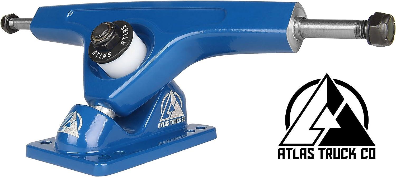 Ejes de longboard ATLAS (set 2). Atlas longboard trucks blueee