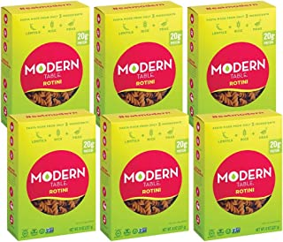 Modern Table Gluten Free, Complete Protein Lentil Rotini Pasta, 6 Count