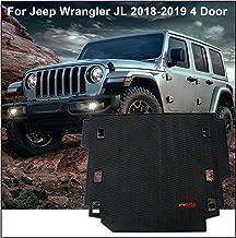 Carpet Rubber Leather Floor Cargo Truck Liner Tray Mat Pad for Jeep Wrangler JL 2018-2019 4 Door models