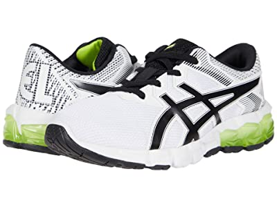 ASICS Kids GEL-Quantum 90 2 (Toddler/Little Kid) (White/Lime Zest) Boy