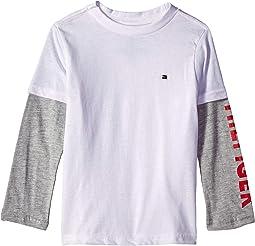 Long Sleeve Crew Neck Shirt (Toddler/Little Kids)