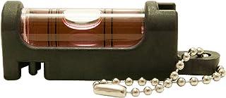 アカツキ製作所 (Kod) 携帯気泡管水平器 水平くんプラス ボディ:黒 気泡管:赤 SU-BR
