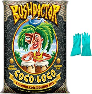 Fox Farm Coco Loco Potting Soil, 2 cu ft (Bundled with Pearsons Protective Gloves)
