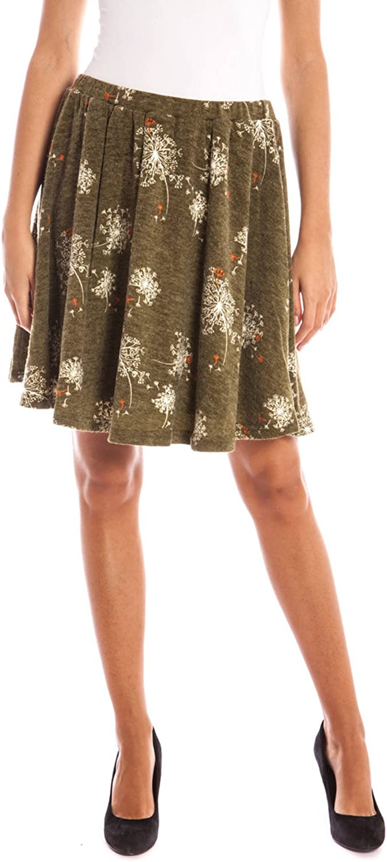 LAVAND. 125L1234 Short Skirt Women Green Green XL
