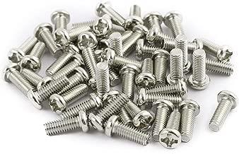 Vis /à six pans creux 230pcs M3 en acier inoxydable SS304 Vis /à t/ête ronde /à six pans creux boulons et /écrous avec bo/îte