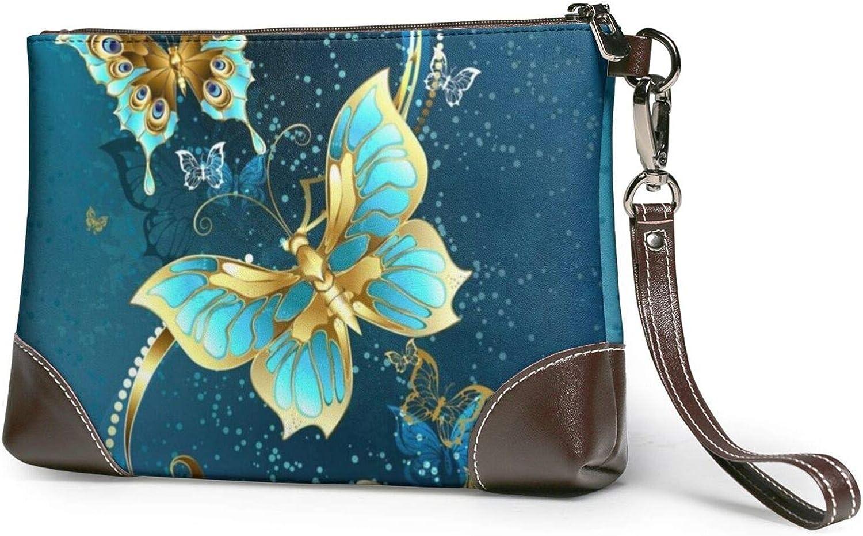 Elegant Butterfly Cash special price Clutch Purses Wristlet Wallet P Popular Leather