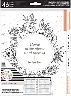me & my BIG ideas Home Extension Pack - The Happy Planner Scrapbooking Supplies - Organizer for Household Duties - Plan Yo...