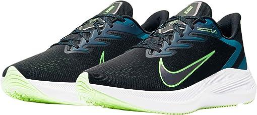 Black/Vapor Green/Valerian Blue
