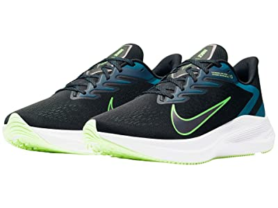 Nike Zoom Winflo 7 (Black/Vapor Green/Valerian Blue) Men