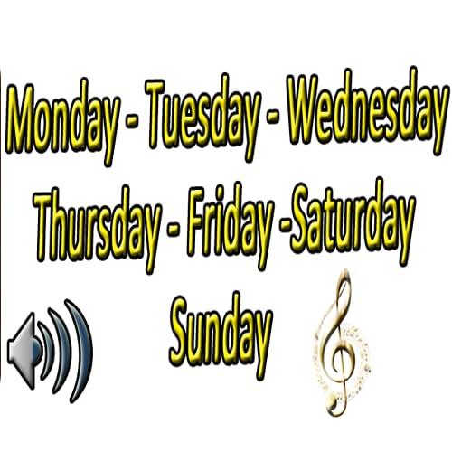 Wochentag in Englisch