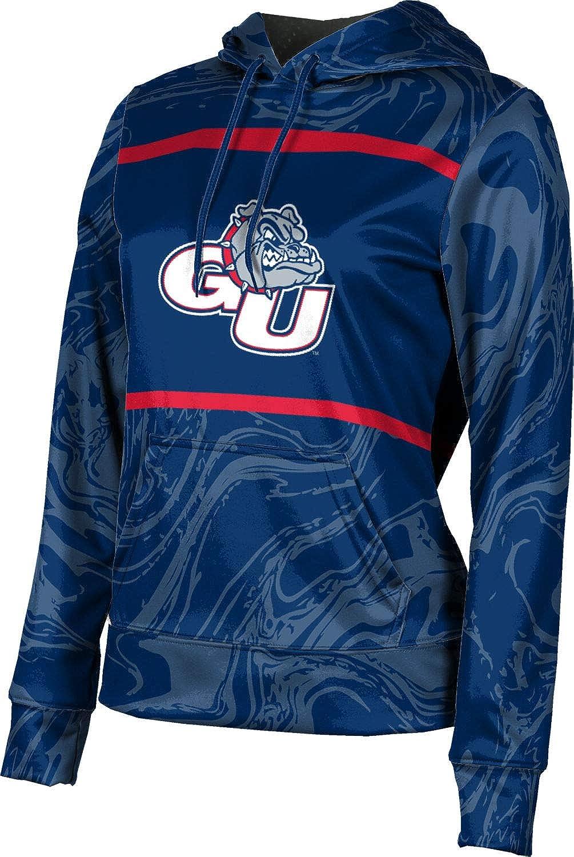ProSphere Gonzaga University Girls' Pullover Hoodie, School Spirit Sweatshirt (Ripple)