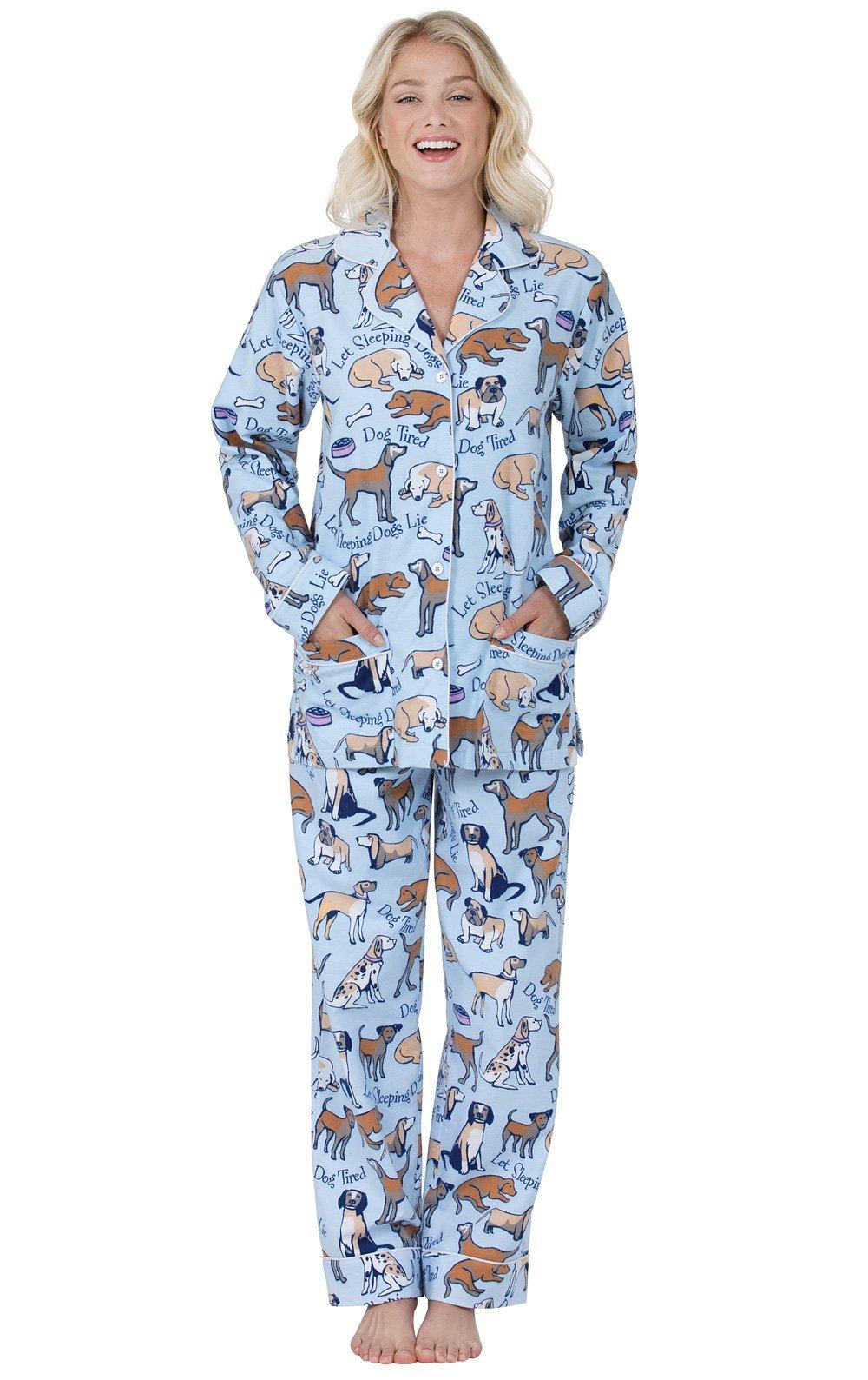 PajamaGram Flannel Pajamas Women Soft