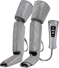 RENPHO Leg Massager, Air Compression for Circulation and Relaxation Calf Feet Thigh Massage, Sequential Boots Device with Handheld Controller 6 Modes 4 Intensities, Helps to Relief Muscle Pain