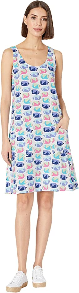 Fish School Drape Dress
