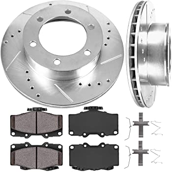 1998 1999 Fit Toyota 4Runner See Desc. OE Replacement Rotors w//Ceramic Pads F