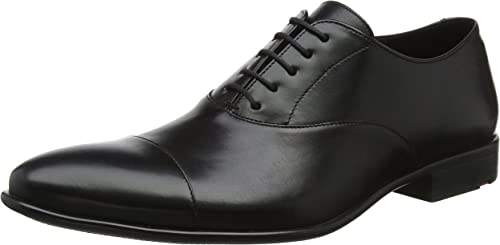 LLOYD Noren, zapatos de Cordones Oxford para Hombre, negro (negro 0), 46.5 EU