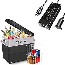 AstroAI Portable Freezer 12 Volt Refrigerator 58 Quart Car Fridge for RV, Van, Boat, 55 Liter Portable Refrigerator for Ca...