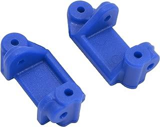RPM 80715 Front Caster Blocks for Slash 2WD, Nitro Slash, E-Rustler and E-Stampede 2WD, Blue