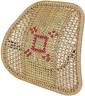 Kanqingqing Cojin Lumbar Silla de Auto Hueca Asiento Silla de Auto Hueca Asiento Trasero Cojín Inicio para Coche, Camión, Silla de Oficina (Color : Brown, Size : Free Size)