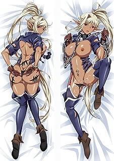 BELIINGER Kuroinu Kedakaki Seijo wa Hakudaku ni Somaru Chloe Peach Skin 160 x 50cm Pillowcase