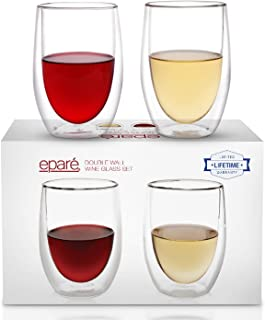 Best double walled insulated glasses Reviews