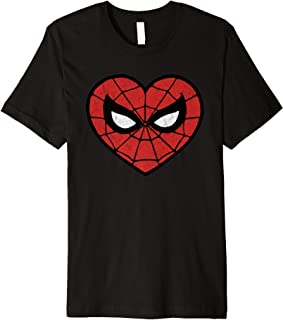 spiderman heart shirt