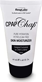 RespLabs CPAP Chap Face Cream — Moisture Therapy   Petroleum Free Lotion   Non-Greasy Moisturizer   1.4oz Full Bottle