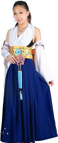 calidad de primera clase De-Cos Cosplay Costume Costume Costume Spira Summoner Yuna Summon Unifrom Set V1  están haciendo actividades de descuento