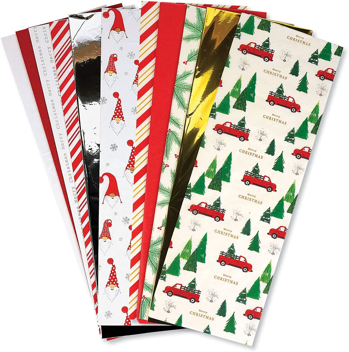 Christmas Tissue Value Pack- Prints and Award-winning store Solids Set Sheet 100 Max 86% OFF of