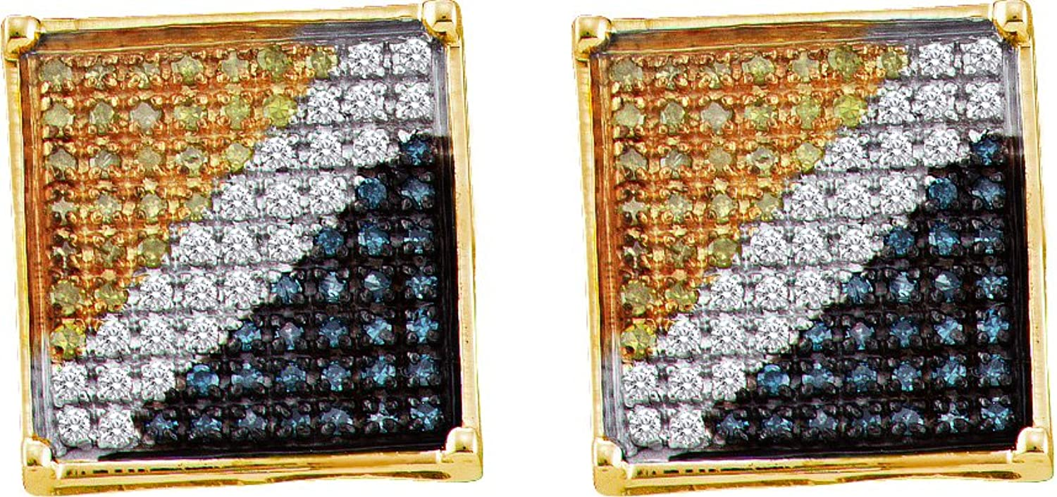 1 20 Total Carat Weight DIAMOND MICRO PAVE EARRING