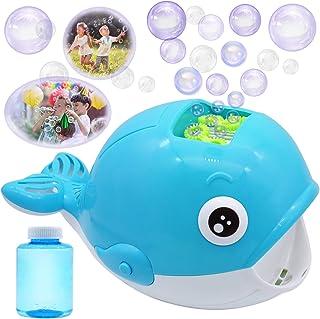 JOYIN Bubble Machine Whale Bubble Maker Automatic Bubble Blower 2000+ Bubbles Per Minute for Kids, Summer Toy Party Favor,...