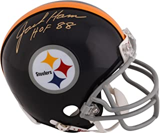 Jack Ham Pittsburgh Steelers Autographed Riddell Mini Helmet with