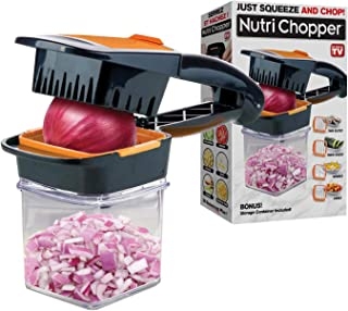 Nutrichopper with Fresh-keeping container – Chops, Slices, Cubes, Wedges –..