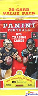 2017 Panini Football EXCLUSIVE HUGE Factory Sealed JUMBO FAT Pack with 20 Cards! Look for Rookies & Autos of Patrick Mahomes, Deshaun Watson, Mitch Trubisky, Christian McCaffrey & More! WOWZZER!