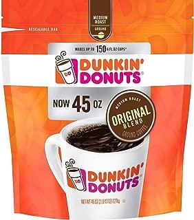 Dunkin' Donuts Original Blend Ground Coffee, Medium Roast 45 oz. (pack of 3) A1