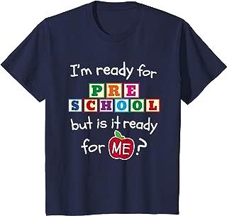 Kids First Day of Preschool Hello Boys Girls Back To School Gift