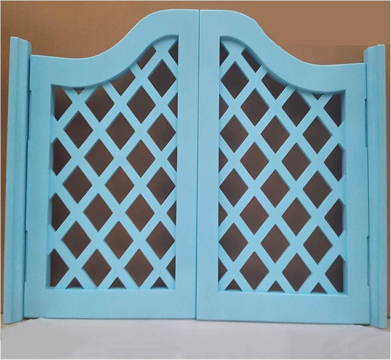GuoWei - Puerta pastoral con persiana, partición de puerta oscilante, bar, restaurante, entrada, salón, terraza, baño interior, incluye bisagras, madera maciza, personalizable