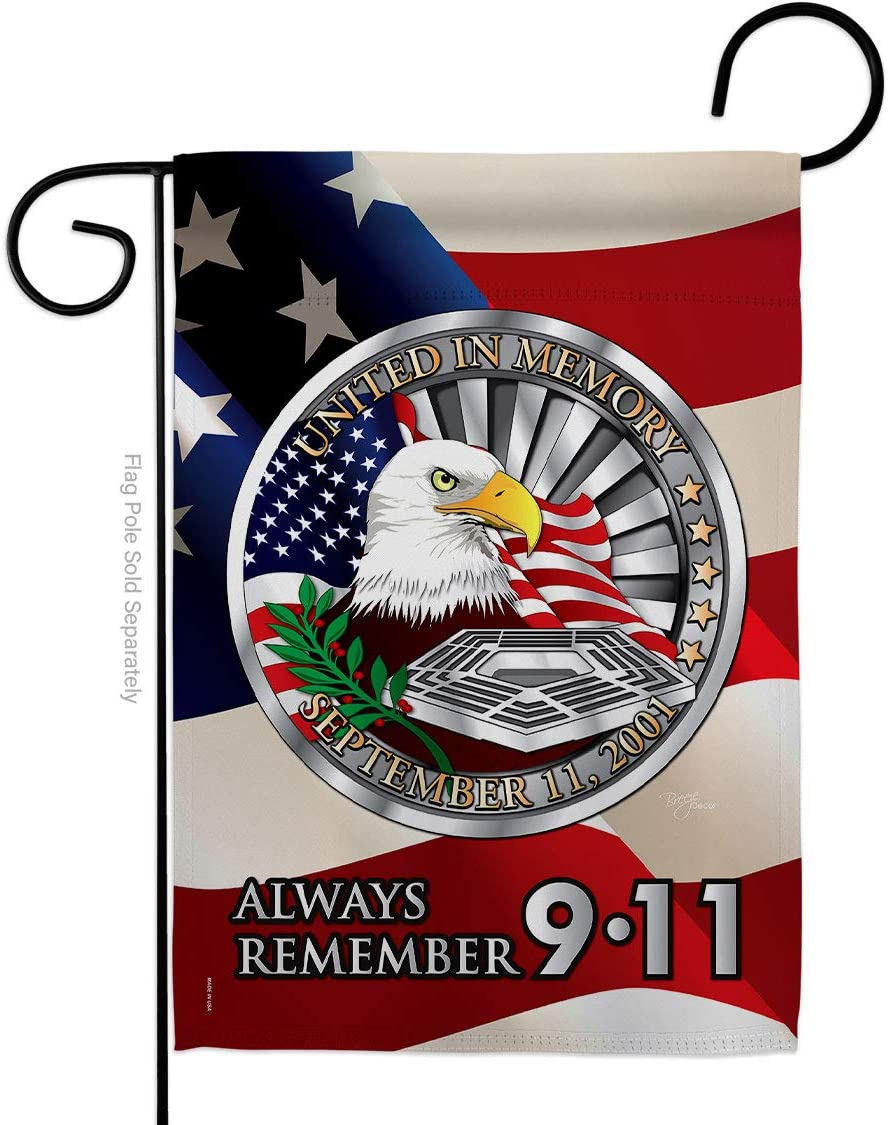 Breeze Decor Free shipping G161063 Always Remember 11 Im Mail order Patriotic 9 Americana