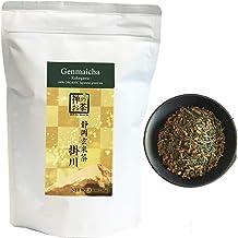 Zen no Megumi Organic Japanese Genmaicha leaves green tea Kakegawa Made in Shizuoka Japan (8.8oz (250g))