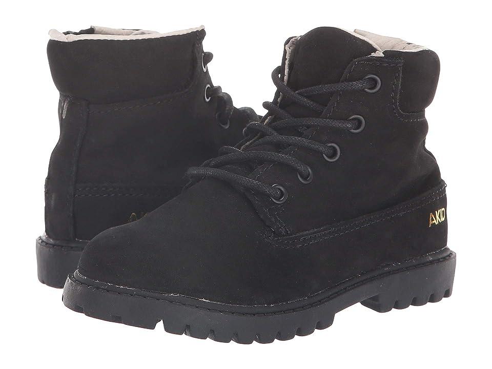Image of AKID Brand Atticus (Toddler/Little Kid/Big Kid) (Black) Kid's Shoes