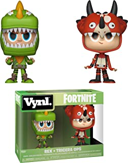 Funko Vynl: Fortnite - Rex & Tricera Ops Toy, Multicolor