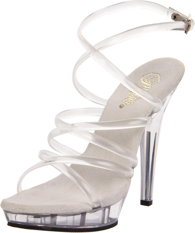 Pleaser Women's Lip-106 C M Platform Sandal