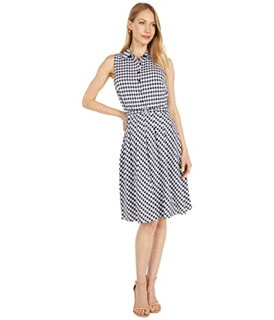 LAUREN Ralph Lauren Gingham Sleeveless Dress