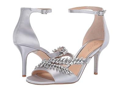 Jewel Badgley Mischka Kailee (Silver) High Heels