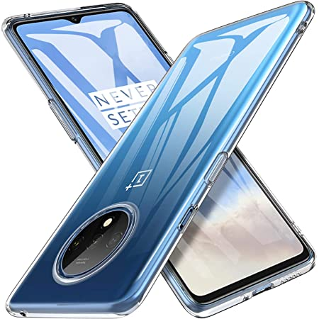 Pingin Back Cover for OnePlus 7T (Soft and Flexible TPU Transparent)