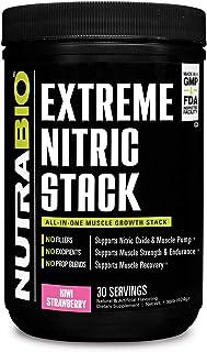 Sponsored Ad - NutraBio Extreme Nitric Stack (Kiwi Strawberry)