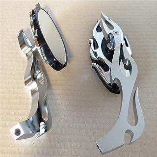 Espejo retrovisor para motocicleta diseñado en forma de