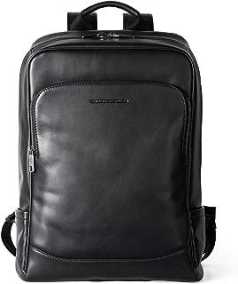 The Entrepreneur Men's Backpack Genuine Leather Business Travel Bag Extra Capacity